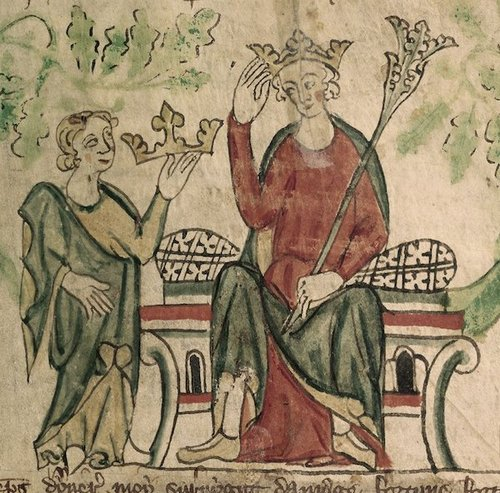 edward ii british library royal 20 a ii f10 detail If youre gonna die, might as well have an insanely bizarre death (21 Photos)