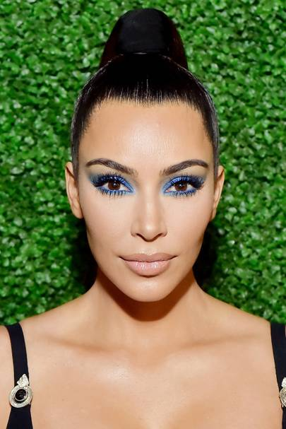 Kim Kardashian's makeup artist's fool-proof tip for applying false lashes is so damn simple
