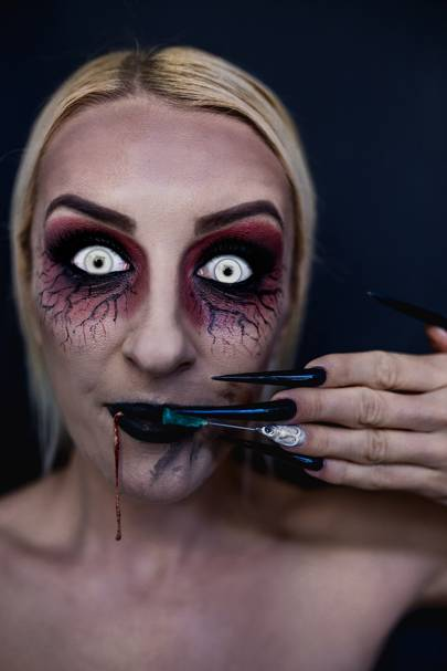 Reading this will totally put you off wearing Halloween contact lenses