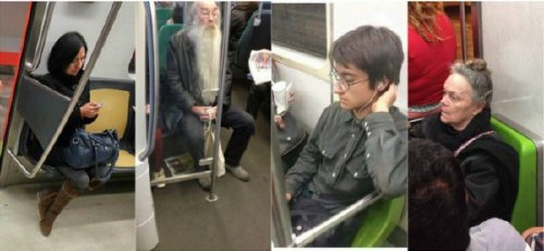 crazy people riding subway bizarre 34 Subways are not where normal happens (38 Photos)
