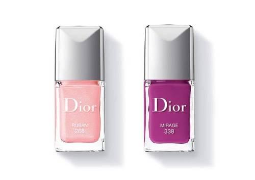 Лаки для ногтей Vernis Couture, 338 Mirage, 268 Ruban, Dior