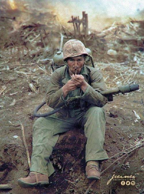 wwii colorized photos are a fascinating look at history xx photos 15 WWII colorized photos are a fascinating look at history (44 Photos)