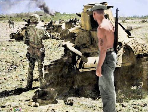 wwii colorized photos are a fascinating look at history xx photos 18 WWII colorized photos are a fascinating look at history (44 Photos)