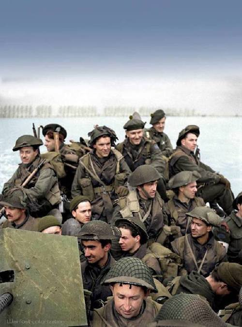 wwii colorized photos are a fascinating look at history xx photos 256 WWII colorized photos are a fascinating look at history (44 Photos)