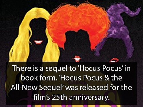 hocus pocus 4 Youre never too old for Hocus Pocus facts (18 Photos)