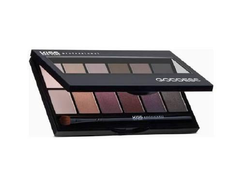 Палетка теней Goddess Eyeshadow Palette, №2 Selene, KISS New York Professional