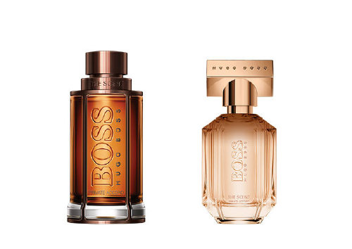 The Scent Private Accord For Him and The Scent Private Accord For Her, Hugo Boss
