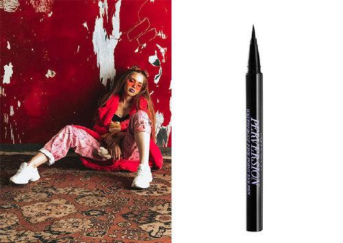 Тонкая водостойкая подводка Perversion Waterproof Fine-Point Eye Pen, Urban Decay