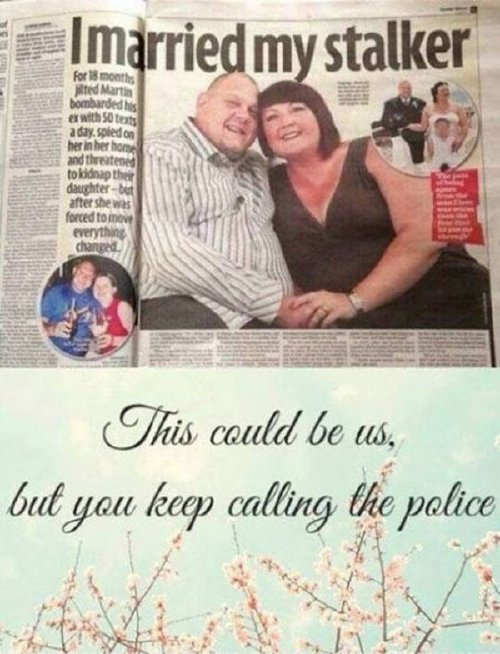 cool newspaper stalker marriage A dirty dump is always worth your time. Enjoy! (38 Photos)