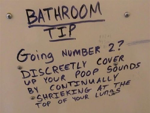 bathroom stalls are canvases for the shttiest sense of humour 25 photos 252 Bathroom stalls are canvases for the sh*ttiest sense of humour (34 Photos)
