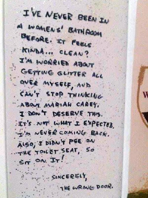 bathroom stalls are canvases for the shttiest sense of humour 25 photos 4 Bathroom stalls are canvases for the sh*ttiest sense of humour (34 Photos)