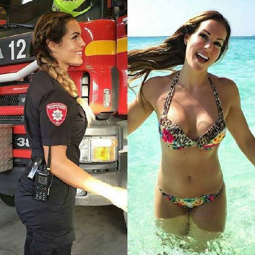 she can do both 22157397 1833062990317973 4373252068631117824 n Beautiful badasses in (and out of) uniform (45 Photos)