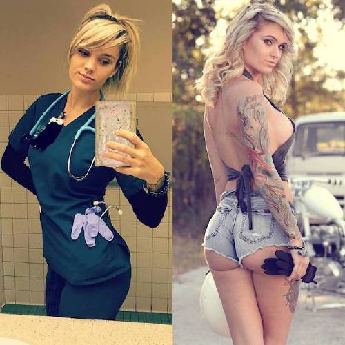 she can do both 26228936 174233843233454 6343241567444140032 n Beautiful badasses in (and out of) uniform (45 Photos)