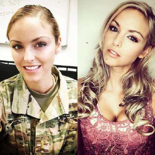 she can do both 43778559 311992286058460 341560114392893785 n Beautiful badasses in (and out of) uniform (45 Photos)