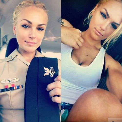 she can do both 22069284 518541808495931 5849404024431837184 n Beautiful badasses in (and out of) uniform (45 Photos)