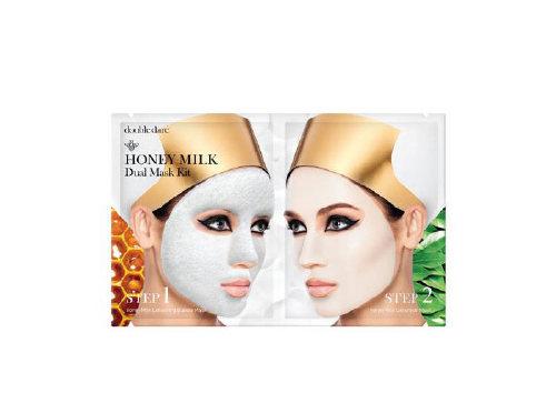 Двухкомпонентный комплекс масок «Мед и молоко» Honey Milk Dual Mask Kit, Double Dare OMG!