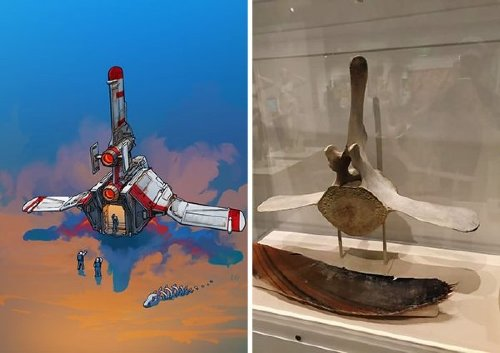 geusz spaceships15 Eric Geusz turns everyday objects into spaceships and Ill never look at a can opener the same way again