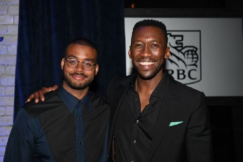 TORONTO, ON - SEPTEMBER 11: Kris Bowers and Mahershala Ali attend RBC hosted