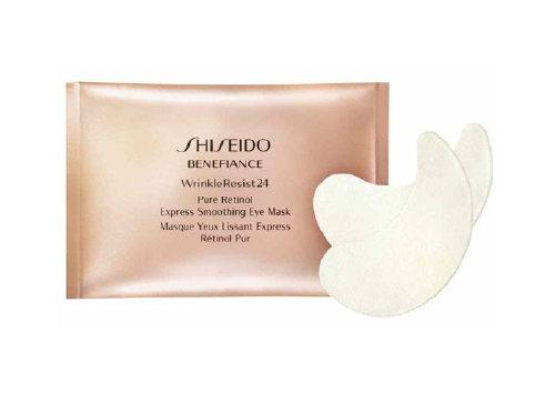 Маска для контура глаз на основе чистого ретинола Pure Retinol Express Smoothing Eye Mask, Shiseido