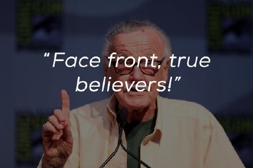inspirational words from the mind and heart of the legendary stan lee x photos 1 Inspirational words from the mind and heart of the legendary Stan Lee (23 Photos)
