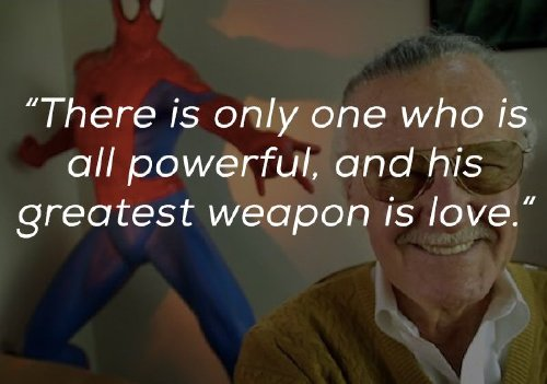 inspirational words from the mind and heart of the legendary stan lee x photos 9 Inspirational words from the mind and heart of the legendary Stan Lee (23 Photos)