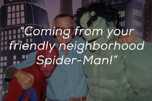 inspirational words from the mind and heart of the legendary stan lee x photos 6 Inspirational words from the mind and heart of the legendary Stan Lee (23 Photos)