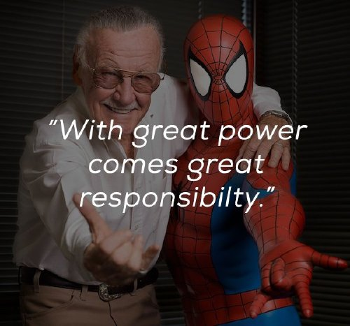 Inspirational words from the mind and heart of the legendary Stan Lee