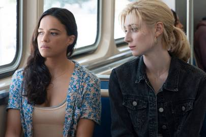 Michelle Rodriguez on being a 'violent child' & destroying her ego for 'Widows'