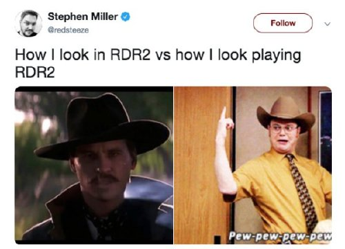 red dead redemption 2 has caused a gold rush of memes 30 photos 12 Red Dead Redemption 2 has caused a gold rush of memes (30 Photos)