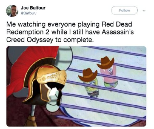 red dead redemption 2 has caused a gold rush of memes 30 photos 15 Red Dead Redemption 2 has caused a gold rush of memes (30 Photos)