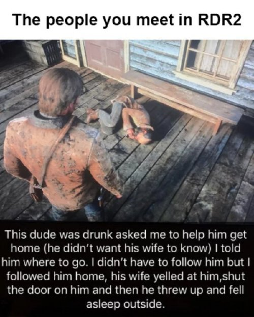red dead redemption 2 has caused a gold rush of memes 30 photos 5 Red Dead Redemption 2 has caused a gold rush of memes (30 Photos)
