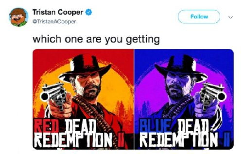 red dead redemption 2 has caused a gold rush of memes 30 photos 6 Red Dead Redemption 2 has caused a gold rush of memes (30 Photos)