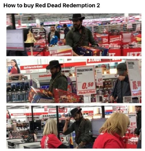 Red Dead Redemption 2 has caused a gold rush of memes