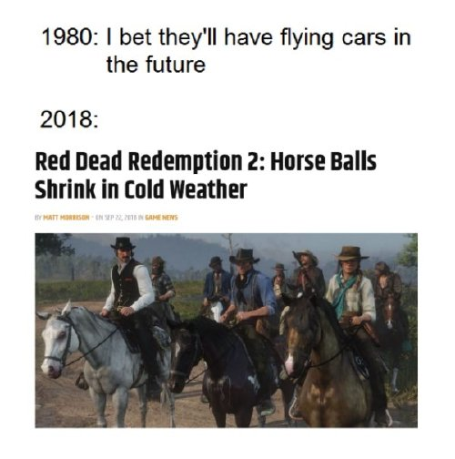 red dead redemption 2 has caused a gold rush of memes 30 photos 20 Red Dead Redemption 2 has caused a gold rush of memes (30 Photos)