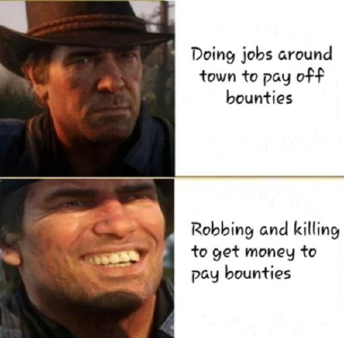 red dead redemption 2 has caused a gold rush of memes 30 photos 24 Red Dead Redemption 2 has caused a gold rush of memes (30 Photos)