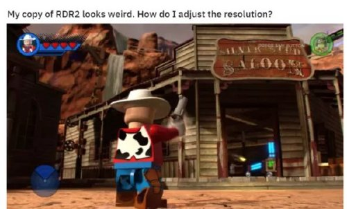 red dead redemption 2 has caused a gold rush of memes 30 photos 9 Red Dead Redemption 2 has caused a gold rush of memes (30 Photos)