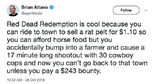 red dead redemption 2 has caused a gold rush of memes 30 photos 8 Red Dead Redemption 2 has caused a gold rush of memes (30 Photos)