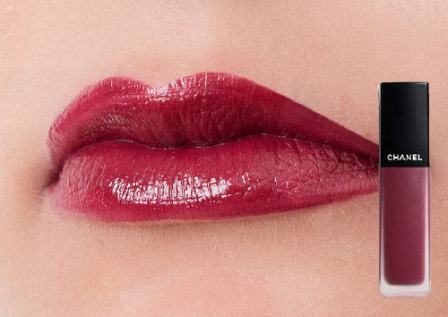 Жидкая матовая помада Rouge Allure Ink, Melancholia, Chanel
