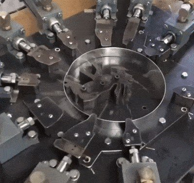 the soothing and satisfying way that cookie cutters are made x gifs 37 The soothing and satisfying way that cookie cutters are made (16 GIFs)