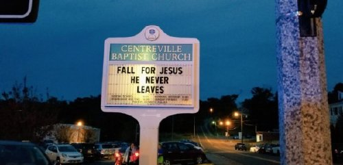 2668323 12 These church signs really... nailed it (23 photos)