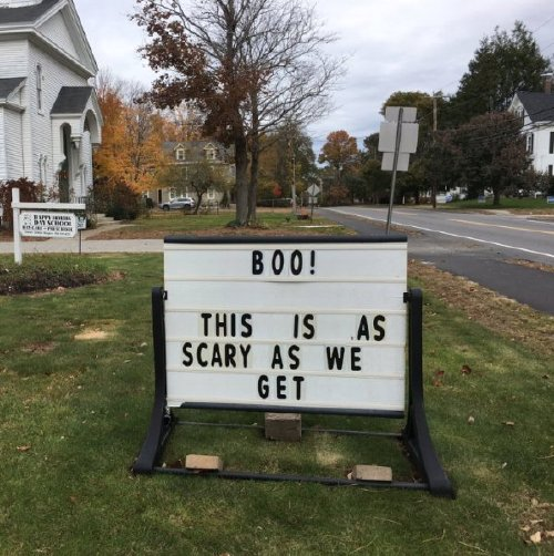 church signs0 These church signs really... nailed it (23 photos)