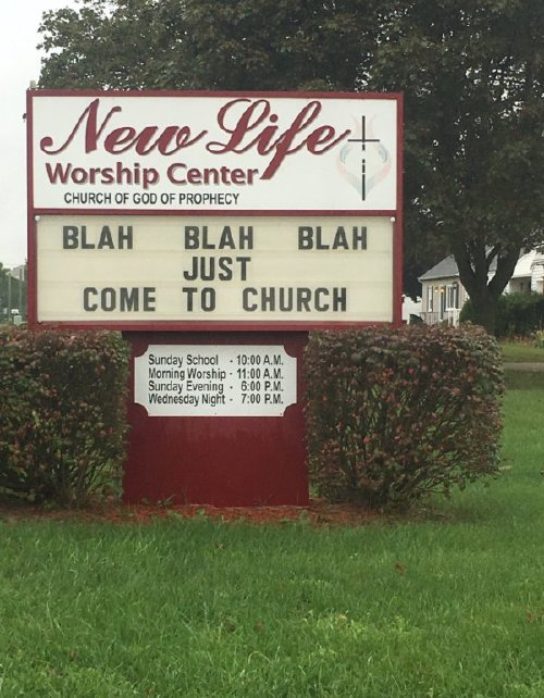 2668323 24 These church signs really... nailed it (23 photos)