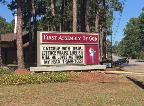 church signs4 These church signs really... nailed it (23 photos)