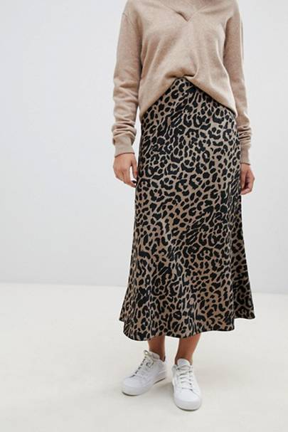 This ASOS sell-out £30 leopard-print skirt is back in stock after selling out twice