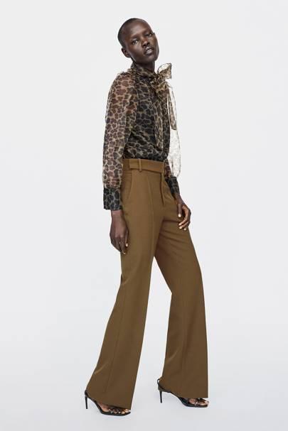 Zara's best-selling blouse just got the perfect seasonal update