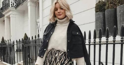 This £18 midi skirt, from New Look is literally, all over our Instagram feeds