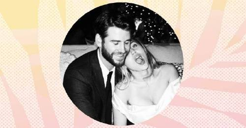 Miley Cyrus, shares adorable never-seen-before snaps, of her Wedding Day