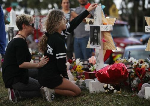 Tributes pour in on 1st anniversary, of Parkland shooting, I am forever haunted by my memory, of that morning