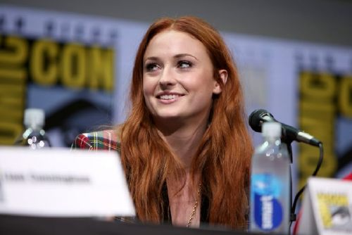 SAN DIEGO, CA - JULY 21: Actress Sophie Turner speaks at the