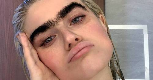 Meet the unibrowed model completely changing the beauty conversation online